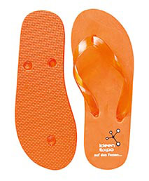 Badeschuhe Orange